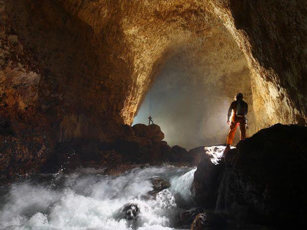 G1 - Fotos revelam beleza das cavernas subterrâneas - notícias em Mundo