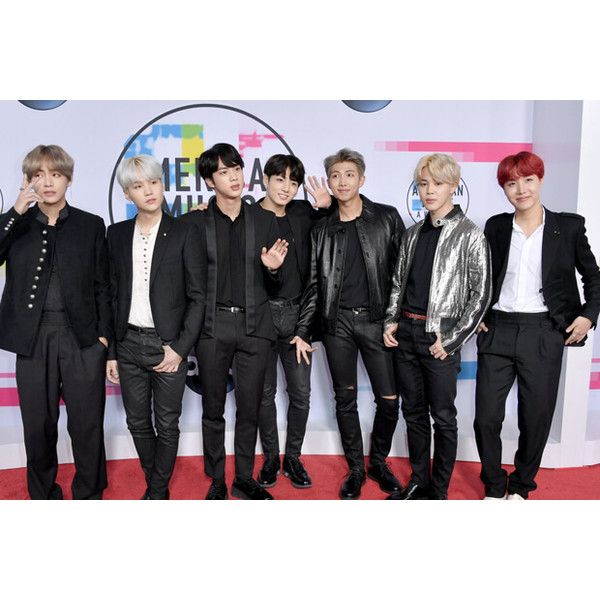Twitter Reacts To Bts On The 2017 Amas Red Carpet Liked On Polyvore Featuring Bts Polyvore Polyvore Outfits Fashion