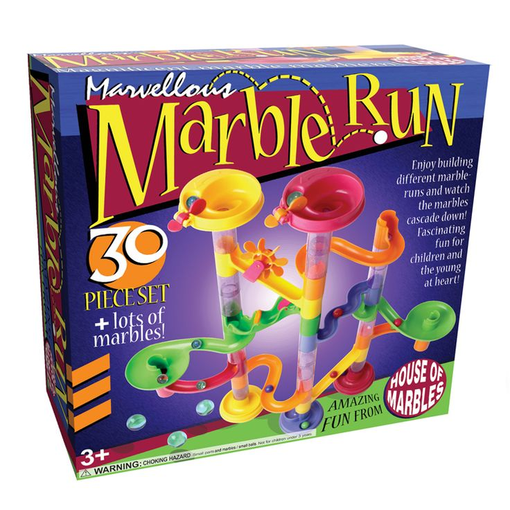 House of Marbles 30-piece Marble Run