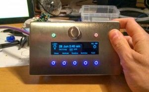 Mat Smith's DIY Arduino Home Automation Control Panel