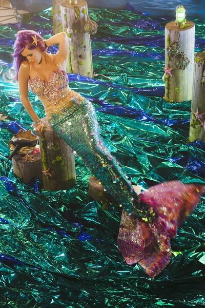 Katy Perry as a mermaid...