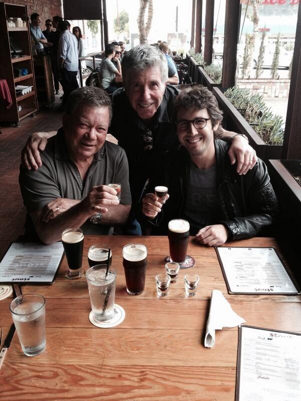 "Tom Bergeron @Tom_Bergeron  1h Host Summit: @William Shatner and I give @Rising Star host @Josh Groban advice: ""B4 each live show, chug som..."