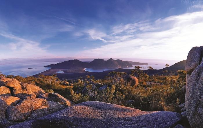 View of Wineglass Bay, Freycinet National Park