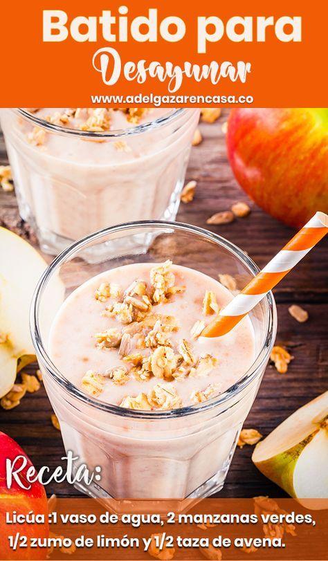 Desayunos Saludables Para Bajar De Peso Con Frutas