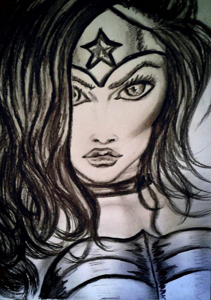 Powerful  My personal drawing, Barbara Scott