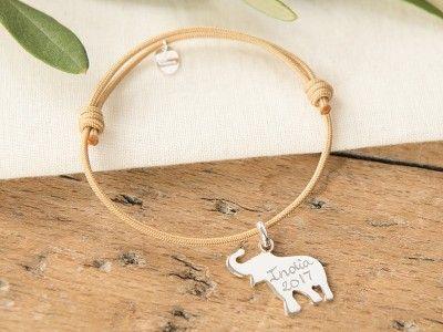 Bracelet personnalisé Eléphant #bracelet #éléphant