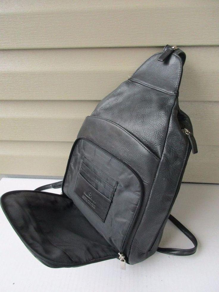 Franklin Covey women backpack Black Sling Bag #FranklinCovey #Sling