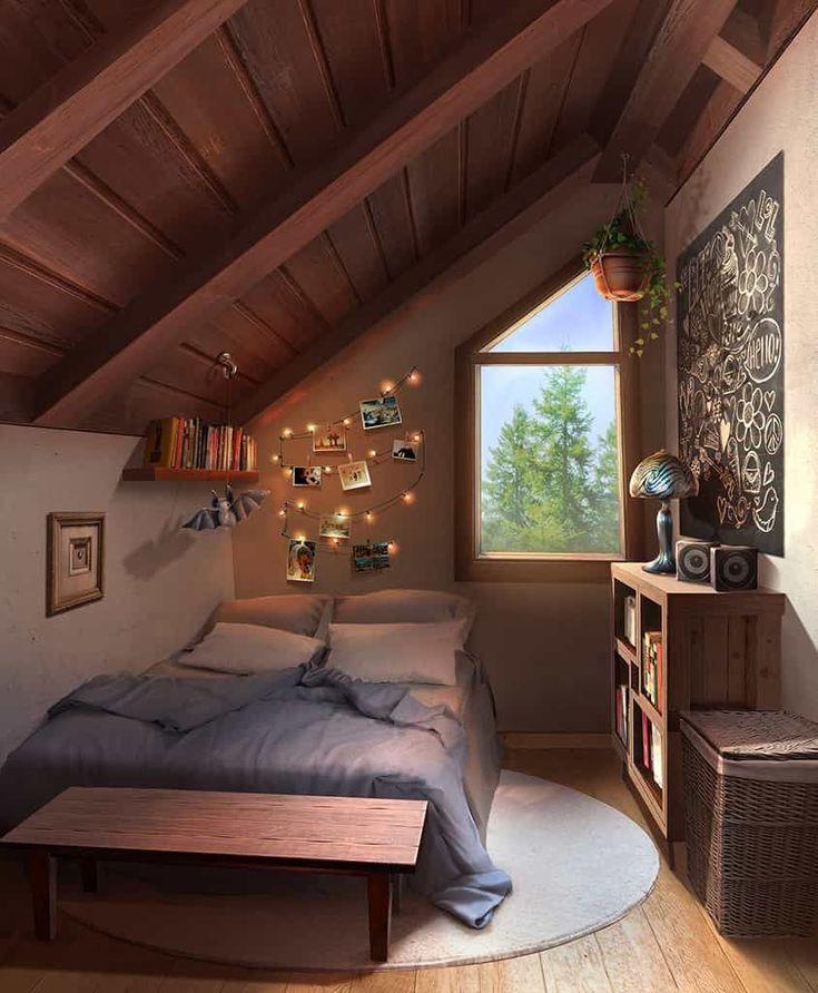 17 Stylishly Anime Bedroom Art That Will Beautiful Your