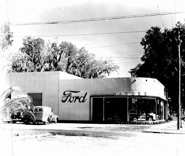 Hardee Ford Dealership - Madison, Florida.
