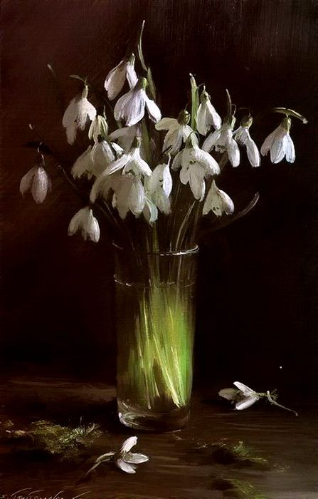 ❀ Blooming Brushwork ❀ - garden and still life flower ,paintings - Сергей Тутунов, Sergey Tutunov, russian artist