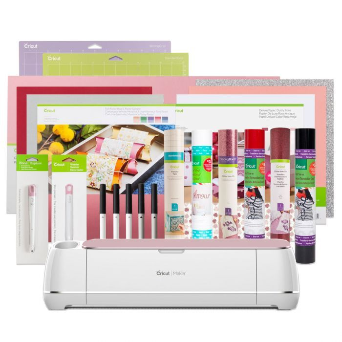 Sale and Free Shipping on the Cricut Maker Valentine Bundle