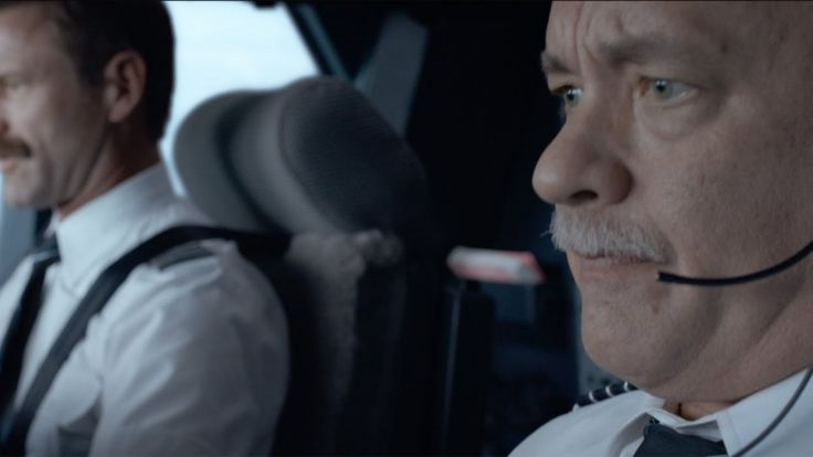 Tom Hanks is Captain Chesley Sullenberger in Clint Eastwood's SULLY - watch the first trailer...
