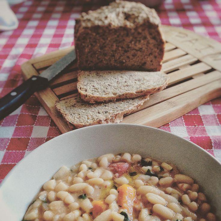 #Recipe | Zuppa di fagioli cannellini | F4OD #vegan