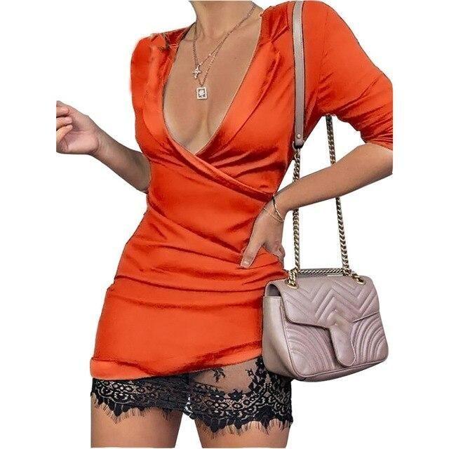 #clubwear #dress #greifenpatchworkbürodame #hollow #hülsengefaltete