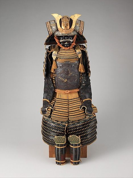 Armor (Gusoku), late 18th-19th century. Japanese. The Metropolitan Museum of Art, New York. Gift of Bashford Dean, 1914 (14.100.171). #costume