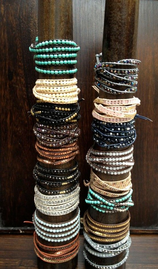 Chan Luu wraps... I need these for my new bracelet craze... Once you fill up your ears and fingers, wrists are next