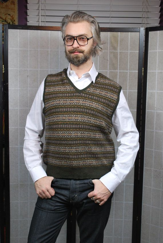 171.70 kr. Fair Isle Sweater Jazz Jumper Gatsby Style by TemporalOutfitters