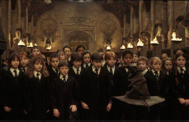 Harry Potter y la Piedra Filosofal - Momento de la selección!!!