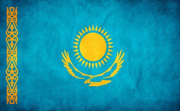Kazakhstan Flag HD Wallpaper