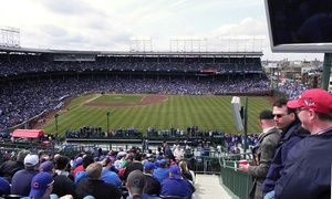Groupon - Rooftop View of Chicago Cubs Game at 3639 Wrigley Rooftop (Up to 44% Off). Nine Games Available. in Lakeview. Groupon deal price: $79