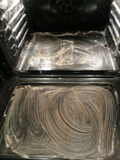 Clean Oven!:3-4 drops of Dawn, 4 T. of Baking Soda…