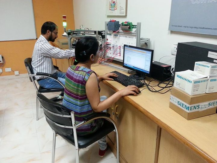 Research & Development by using PLC Simatic S7 - 1200.