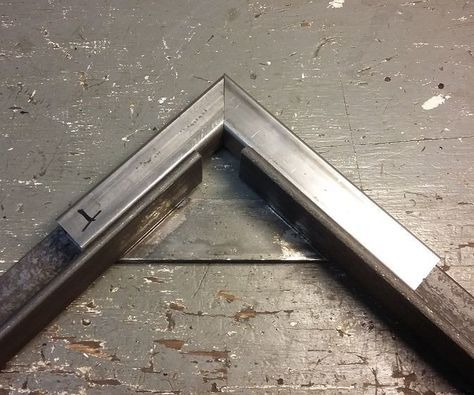 Here's an old school corner clamp used for welding 90* tubing and angle iron. This design has been around for ages. I didn't see it on the site so I thought I'd do...