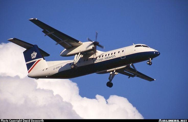 De Havilland Canada DHC-8-300 Dash 8 50 passengers