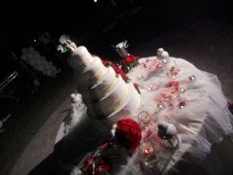 Sala Ricevimenti La Tenuta dei Mantelli: la torta nuziale
