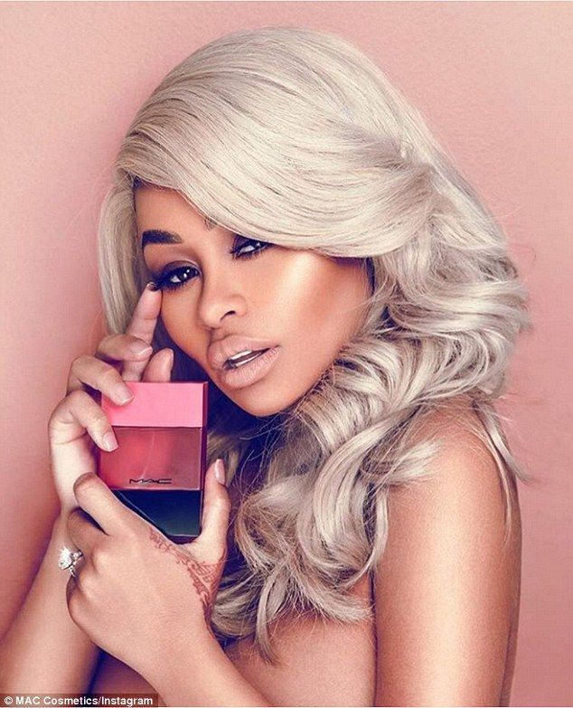 Wow: Showing his support! Rob Kardashian shared a picture of Blac Chyna to his Instagram account on Monday; he gushed about her new gig as ambassador for MAC Cosmetics