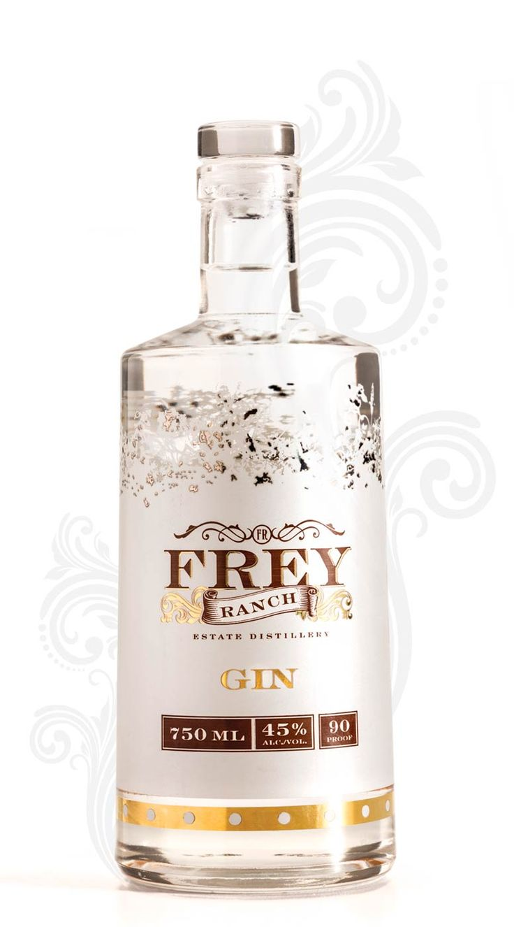 Frey Ranch Estate Distillery award winning gin is a marriage of homegrown ingredients and botanicals that produce exotic flavor to create a premium gin.