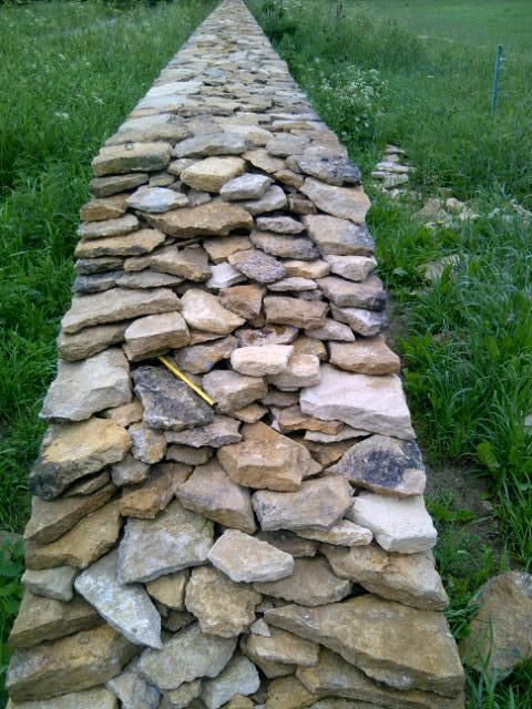Best images about dry stack stone wall on pinterest