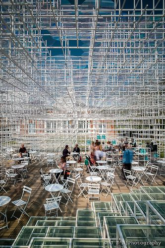 2013 Serpentine Pavilion by Sou Fujimoto is like a breath of fresh air - an extraordinary space to inhabit.