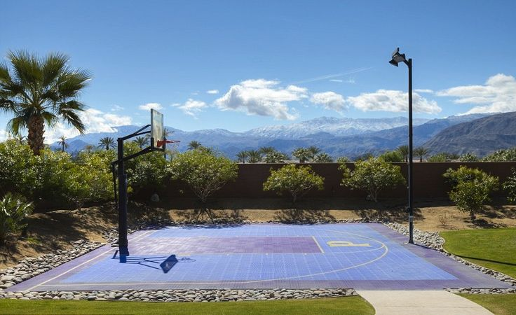 palm springs basketball court