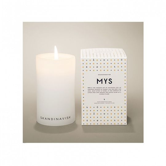 70 hour burn time with these scandinavian mys candles