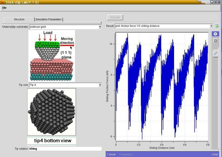 #nanoHUB.org - #Atomic Stick-Slip: Molecular dynamics #simulation of #atomic stick-slip friction