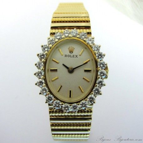 ROLEX occasion - Montre vintage http://www.bijoux-bijouterie.com/montres/1769-rolex-occasion-montre-vintage-116.html #montre #luxe #Paris