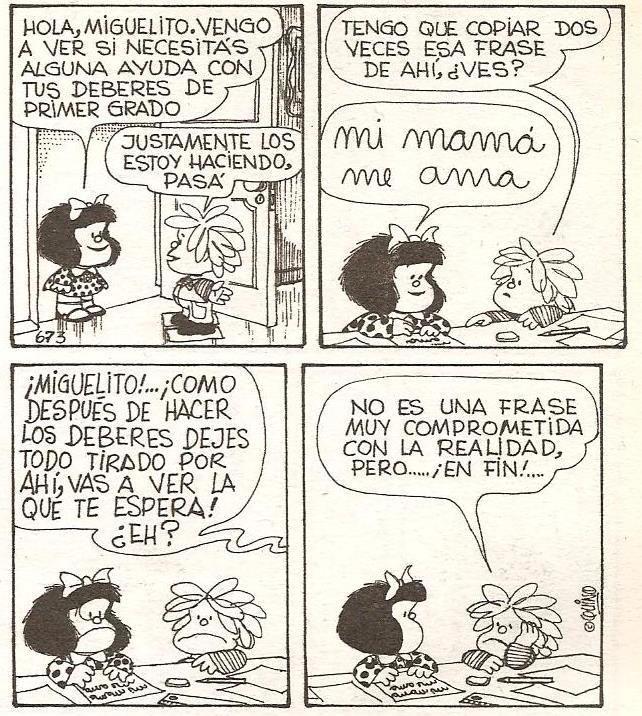 Miguelito - Mafalda