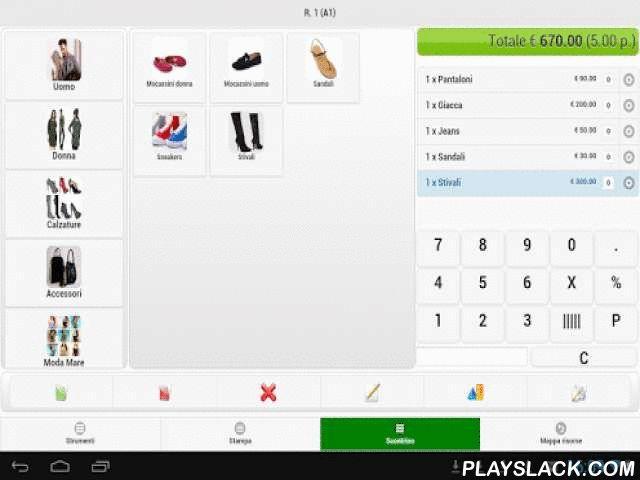 Scontrino Semplice  Android App - playslack.com , SCONTRINO SEMPLICEIL PUNTO CASSA NON È PIÙ ALLA CASSACon SCONTRINO SEMPLICE il registratore di cassa diventa mobile, facilitando le fasi di vendita e di pagamento in tutti i settori merceologici: negozi di ogni tipologia, bar, pizzerie, piccoli ristoranti, bed & breakfast... Ti basterà scaricare l' App SCONTRINO SEMPLICE su tablet, o addirittura su smartphone e potrai gestire tutte le operazioni di un registratore di cassa tradizionale in…