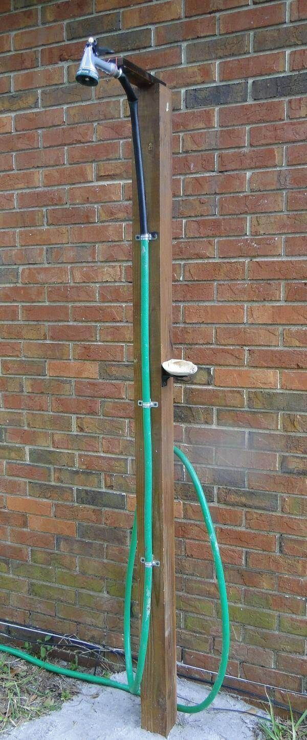 HomeJelly reader's rendition of our outdoor shower