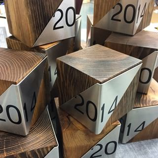 Custom recovered wood awards #trophy #trophies #awards #award #eco #ecoawards #jb #sustainable #handcrafted #plaque #design #designer #modern #timeless #beautiful #love #fancy #moderndesign #unique #luv #tag #designs #sustainability #green #gift #corporate #recognition #bamboo