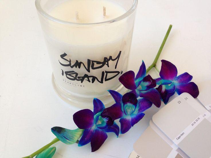 Sunday Island candles