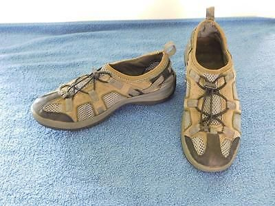 Women's Sport Sandals 8.5 B Fisherman Style Walking Hiking Kayaking Lands End