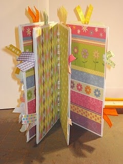 mini album made from business envelopes... I always save junk mail return envelopes... what a great way to use them!!