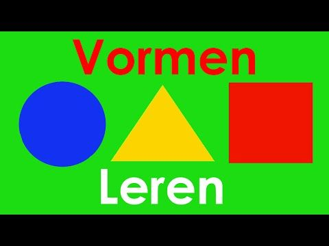 ▶ Leer Vormen Herkennen - YouTube