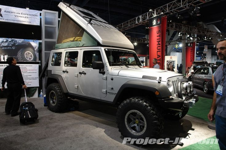 American Expedition Vehicles has a sweet looking pop-top concept for a Jeep…