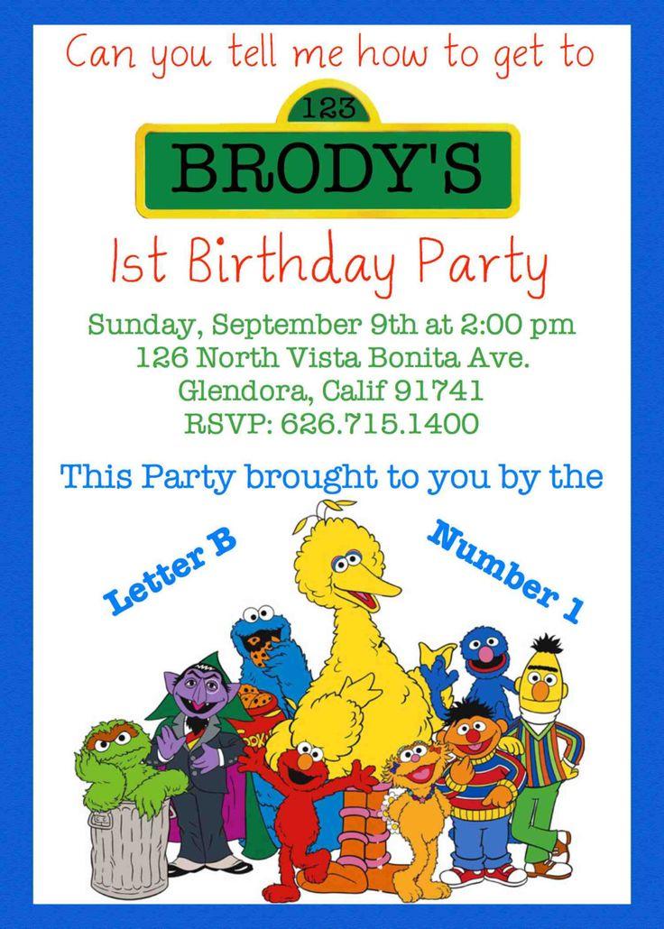 126 best Elmo / Sesame Street Birthday Party Ideas images on ...