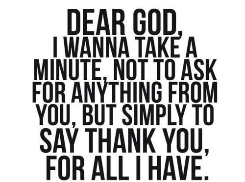 Kiitos, Jumalan
