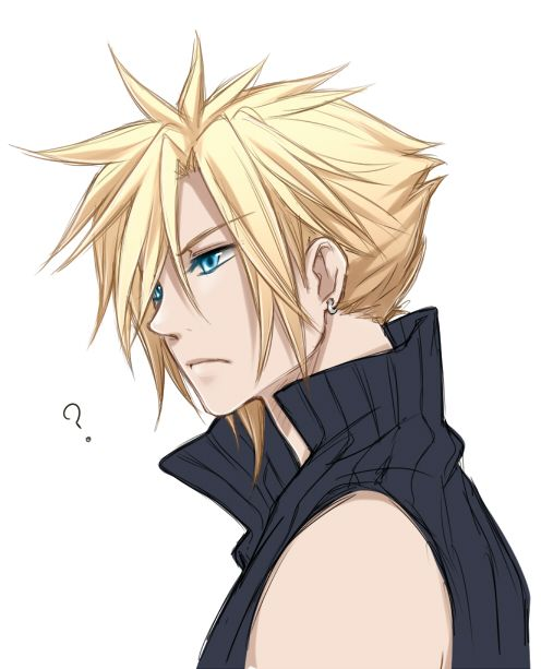 Resultat d'imatges de cloud strife fan art