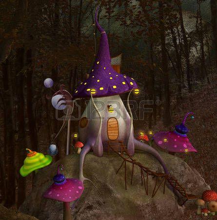 Mushrooms hill  photo